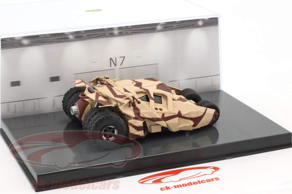 Batman Tumbler film d'animation Batman begins (2005) camouflage 1:43 Altaya