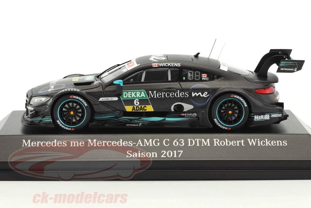 Mercedes-Benz AMG C 63 #6 DTM 2017 Robert Wickens 1:43 Spark