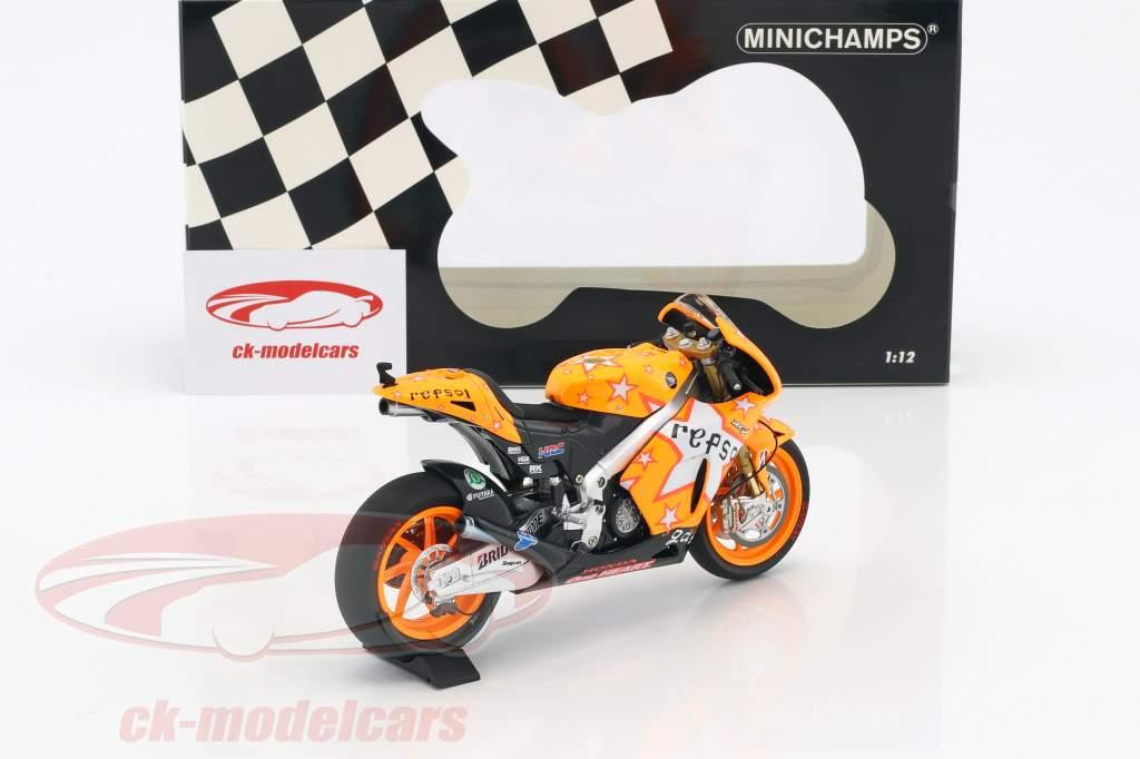 Dani Pedrosa Honda RC212V #26 Aragon GP MotoGP 2011 1:12 Minichamps
