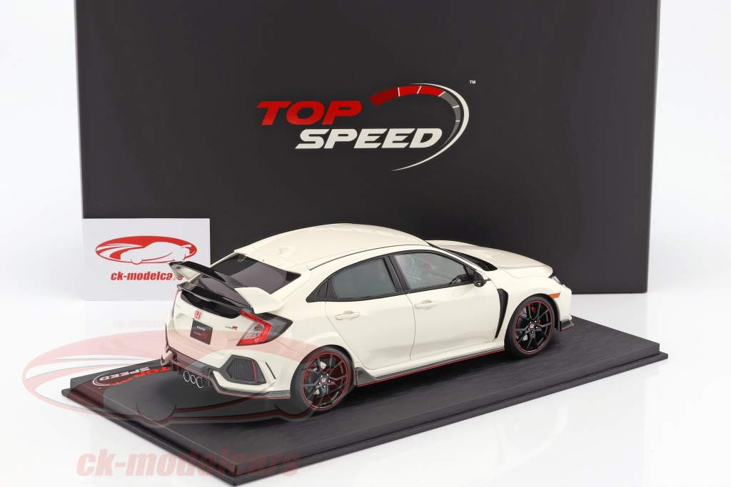 Honda Civic Type R LHD championship bianco 1:18 TrueScale