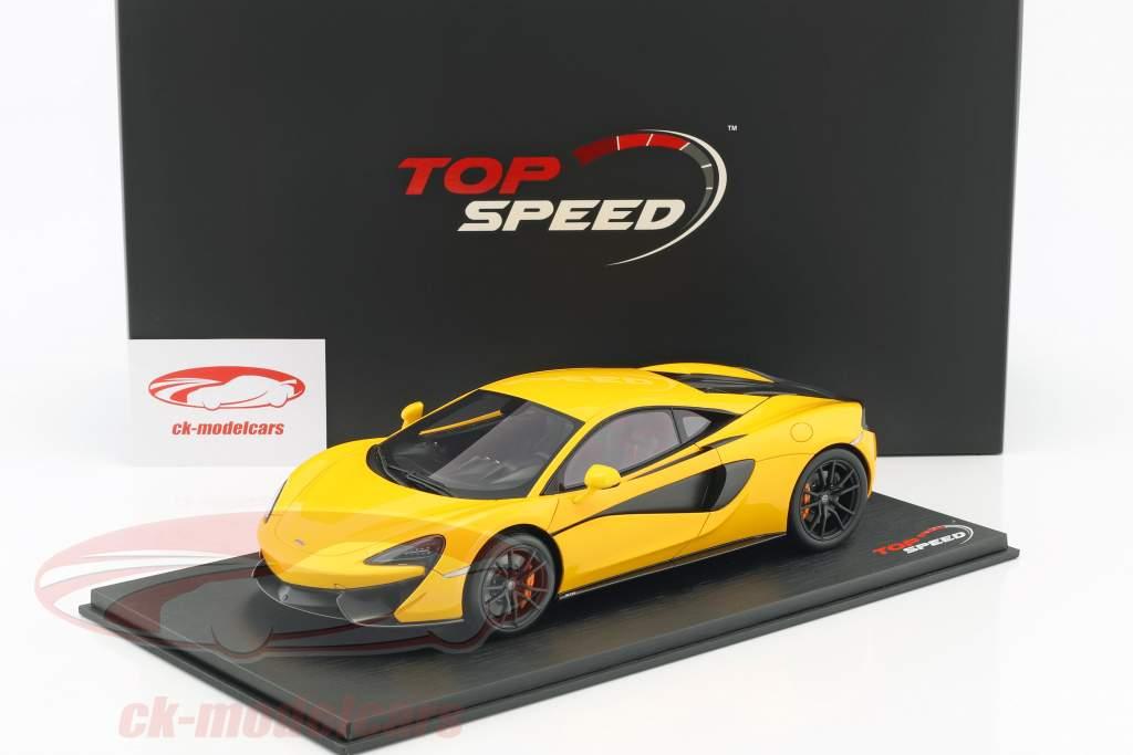 McLaren 570S volcano yellow 1:18 TrueScale