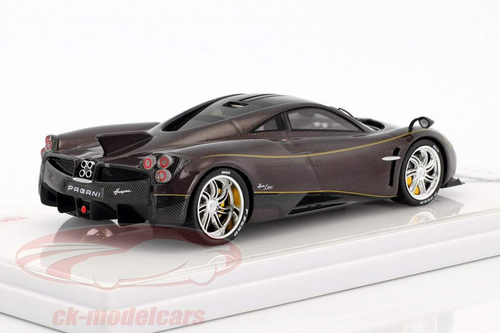 Pagani Huayra Dinastia Chiwen Red carbon 1:43 TrueScale