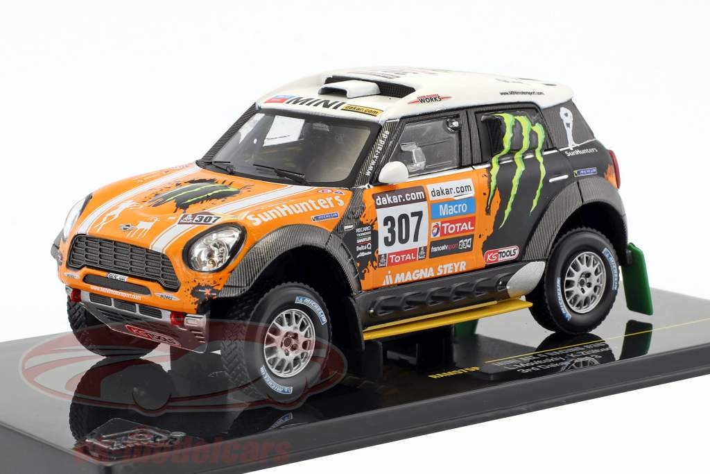 Mini All4 Racing #307 3rd Rallye Dakar 2013 Novitsky, Zhiltsov 1:43 Ixo