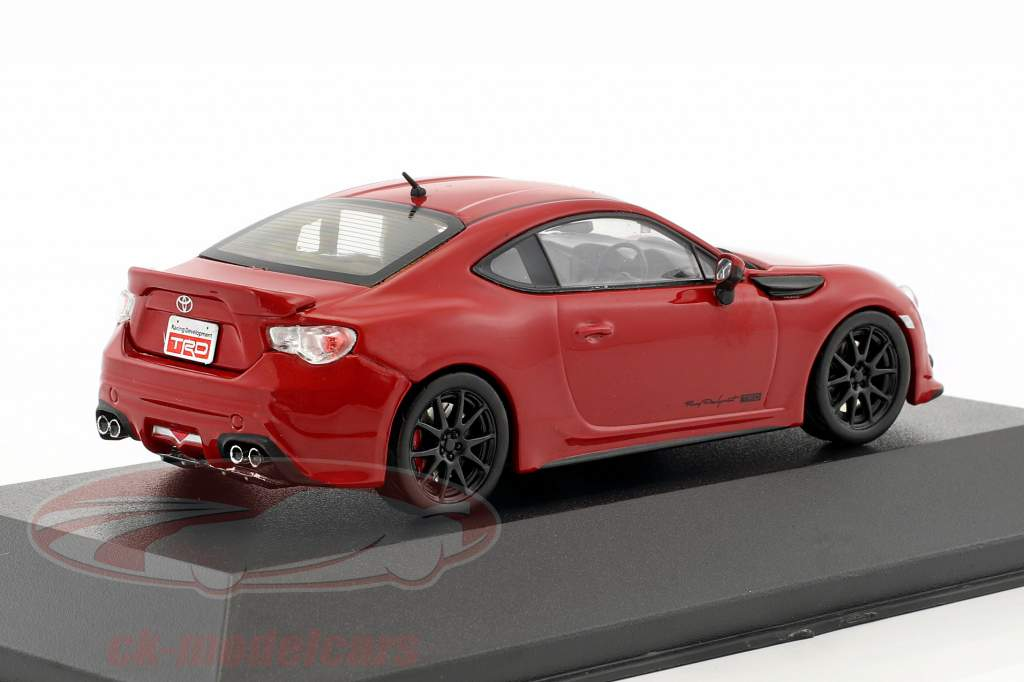 Toyota 86 TRD Performance Line RHD year 2013 red 1:43 JCollections