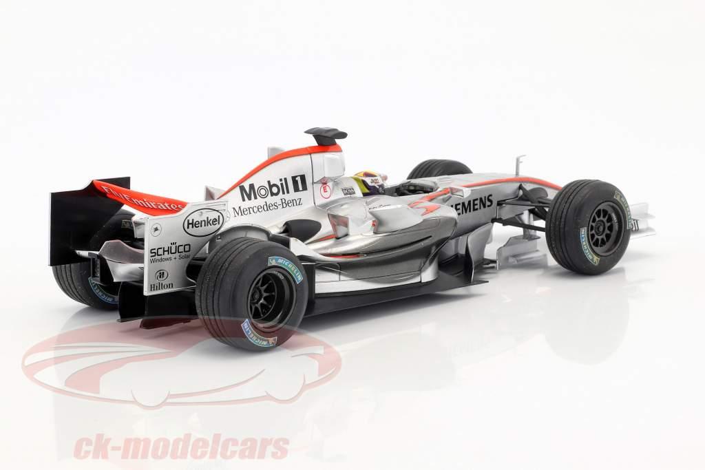 Juan Pablo Montoya McLaren MP4-21 #4 formule 1 2006 1:18 HotWheels
