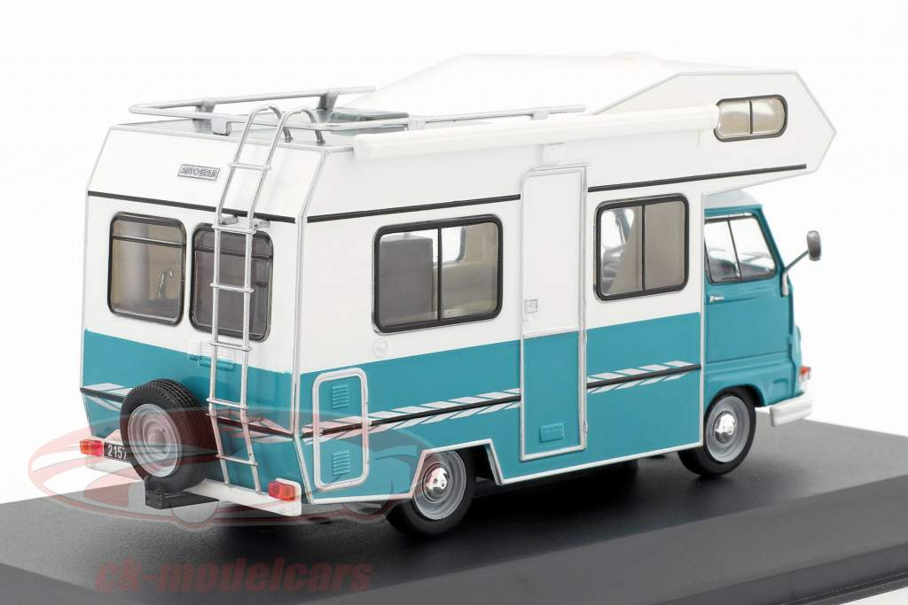 Star Autostar 350 camper year 1979 turquoise / green 1:43 Ixo