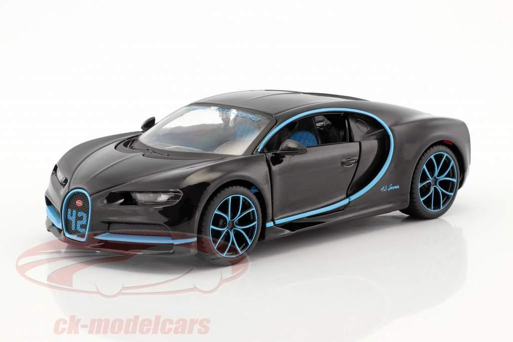 Bugatti Chiron black 1:24 Maisto