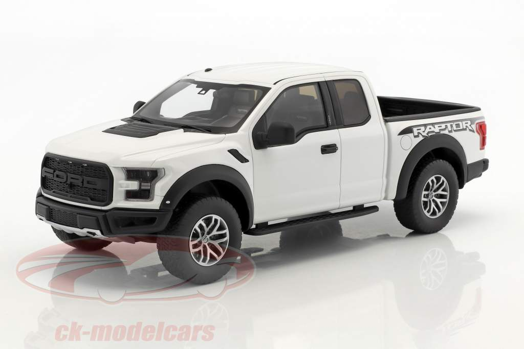 Ford F150 Raptor year 2016 Oxford white 1:18 GT-Spirit