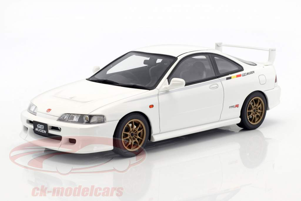Honda Integra DC2 Type-R MUGEN year 1998 championship white 1:18 OttOmobile