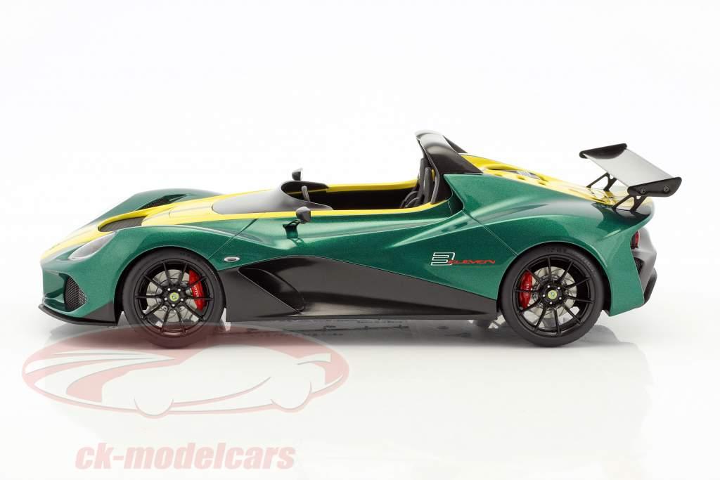 Lotus 3-Eleven grün / gelb 1:18 AUTOart