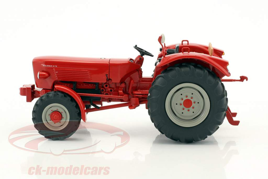 Güldner G75A tractor with trailer red / brown 1:32 Schuco