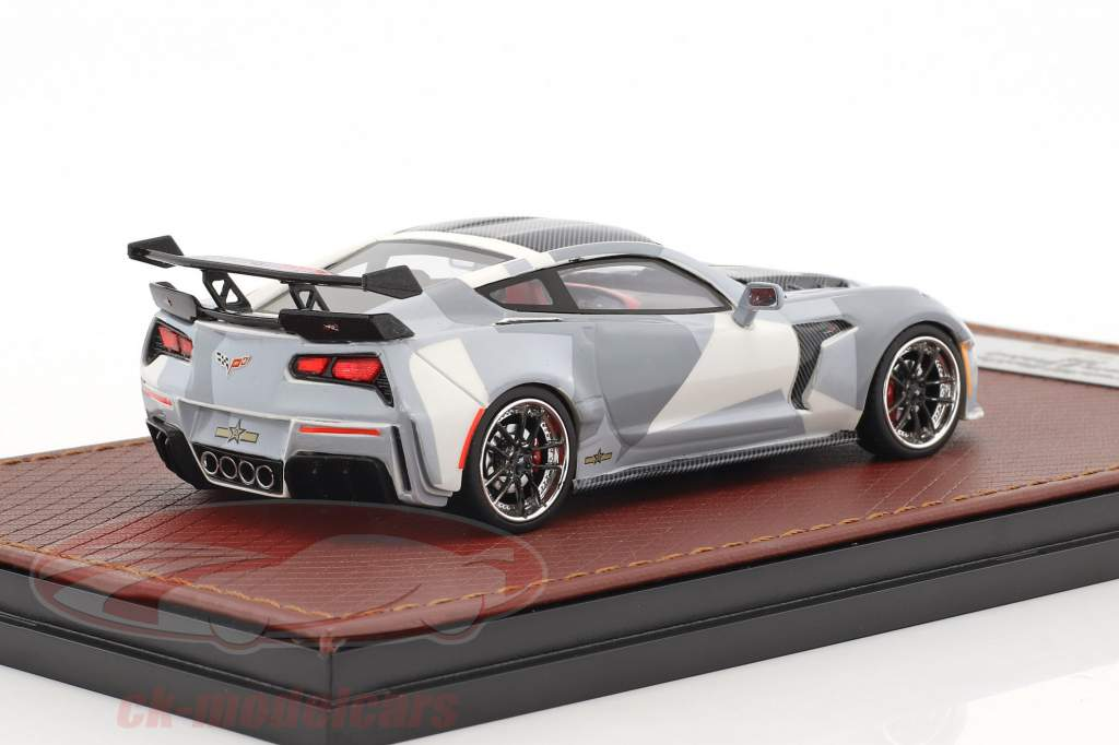 Chevrolet Corvette Widebody DarwinPRO Black Sails year 2016 camouflage 1:43 GLM