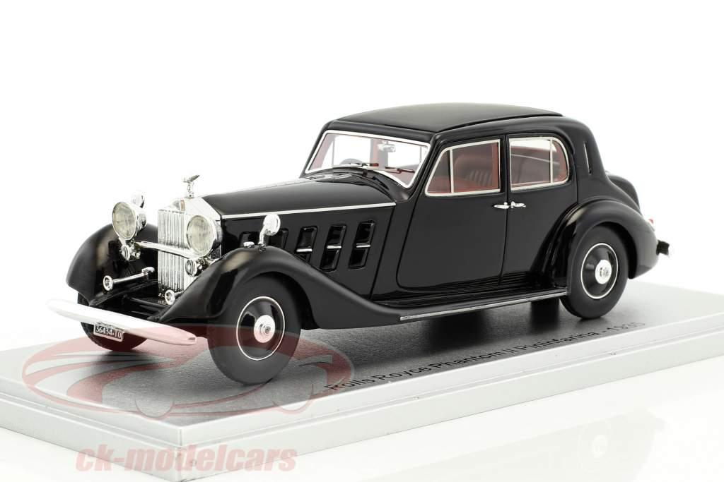 Rolls Royce Phantom II Pininfarina Baujahr 1935 schwarz 1:43 KESS