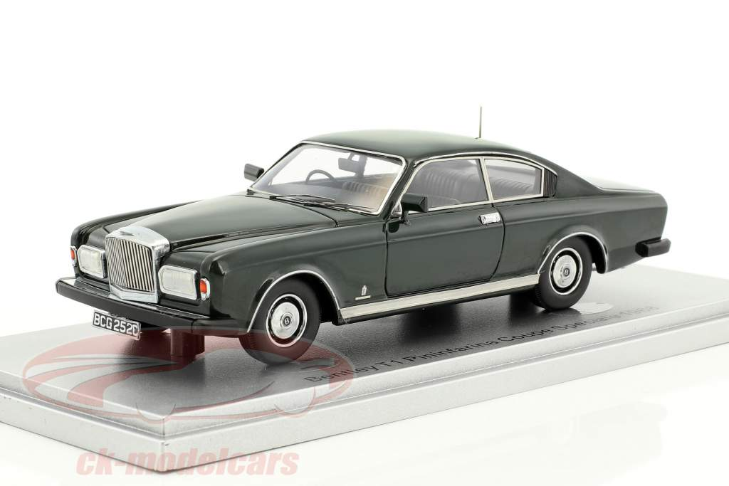 Bentley T1 Pininfarina Coupe Speciale year 1968 green 1:43 KESS
