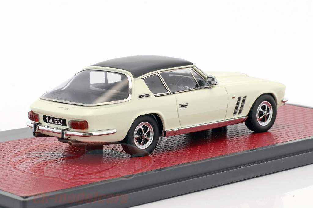Jensen Interceptor FF Series II year 1970 gray / white 1:43 Matrix