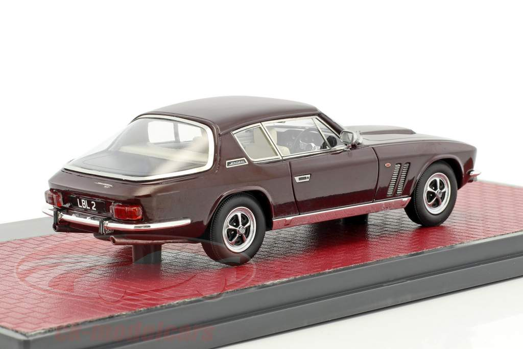 Jensen Interceptor FF Series II year 1970 brown 1:43 Matrix