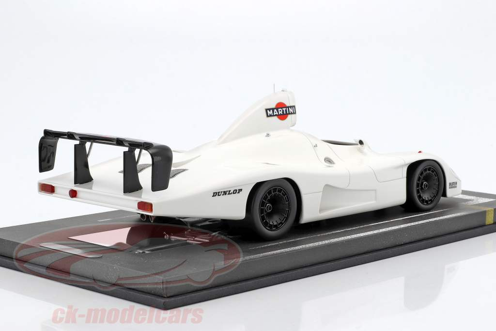 Porsche 936/78 Turbo Testcar 24h LeMans 1978 Martini Racing Team mit Vitrine 1:18 BBR