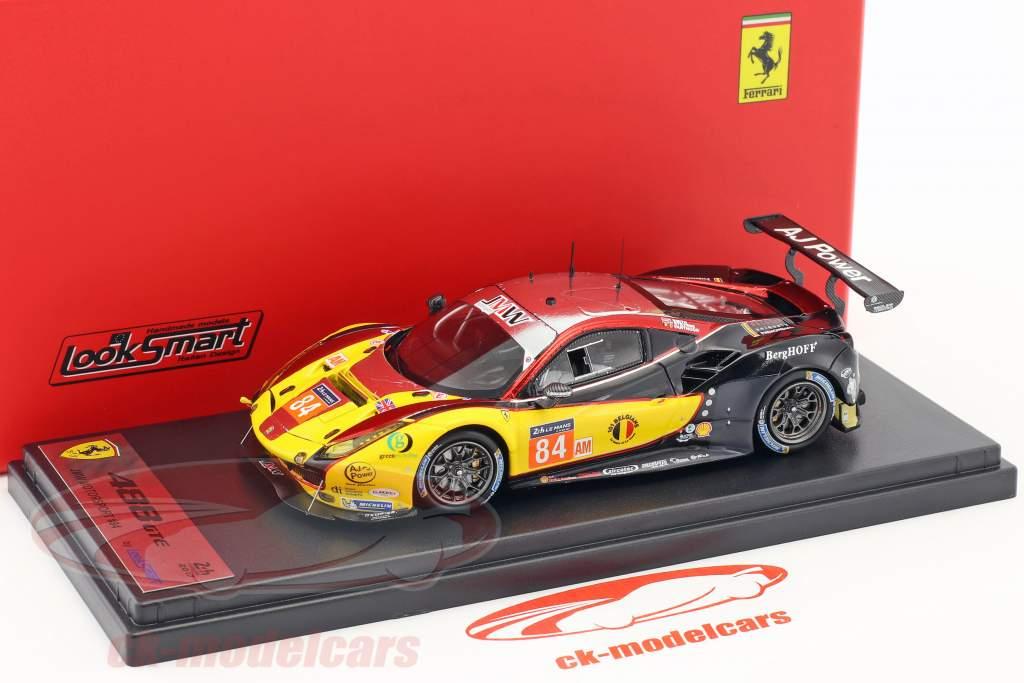 Ferrari 488 GTE #84 vincitore LMGTE Am classe 24h LeMans 2017 JMW Motorsport 1:43 LookSmart