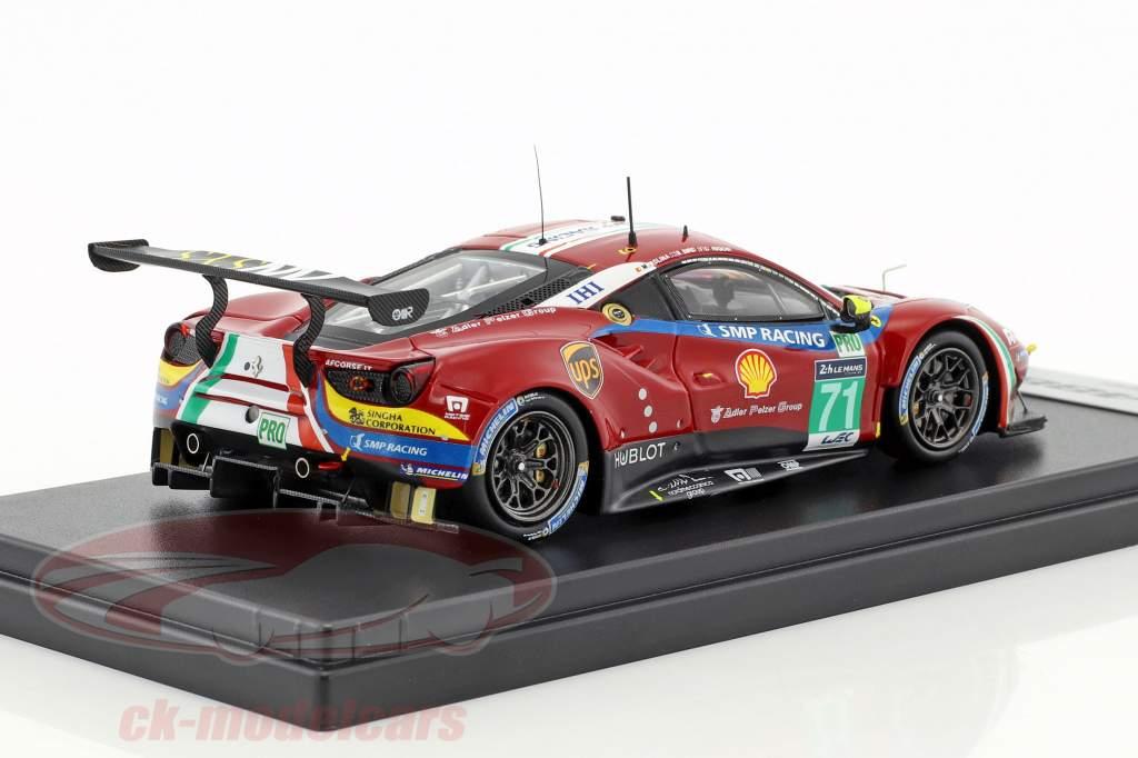 Ferrari 488 GTE #71 5th LMGTE Pro class 24h LeMans 2017 AF Corse 1:43 LookSmart
