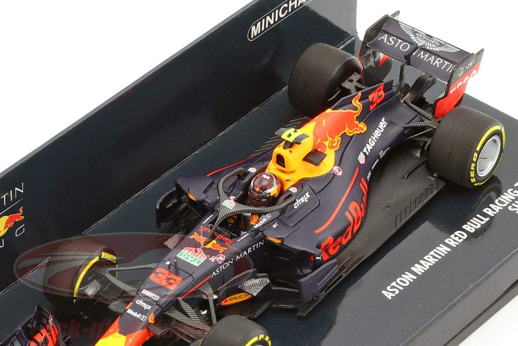 Max Verstappen Red Bull Racing RB14 #33 showcar formule 1 2018 1:43 Minichamps