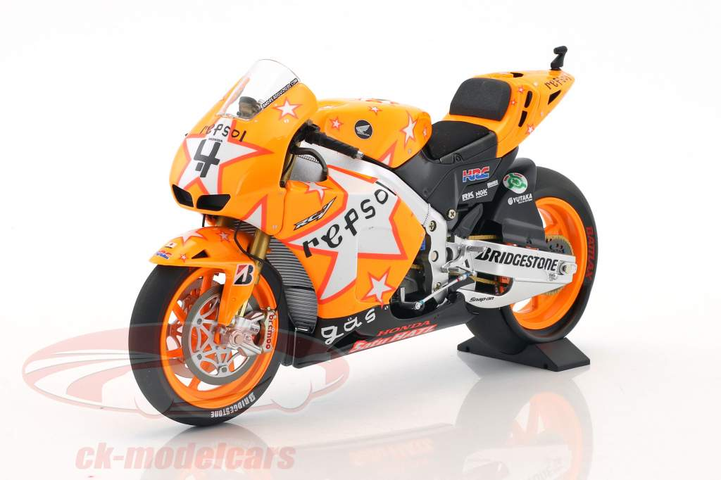 Andrea Dovizioso Honda RC212V #4 Aragonien GP MotoGP 2011 1:12 Minichamps