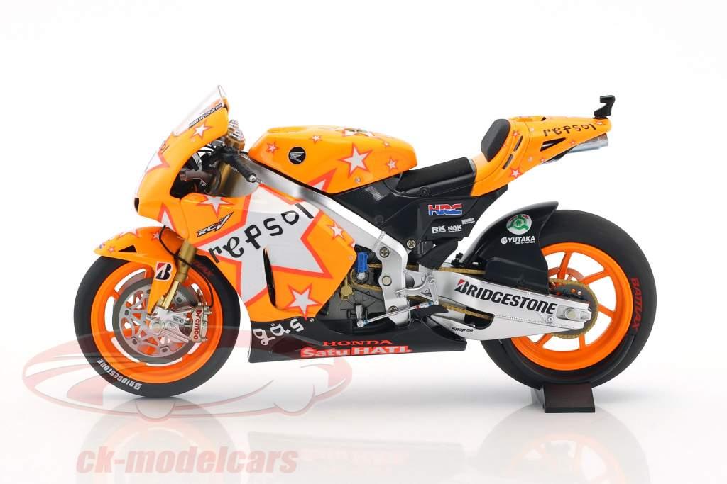 Andrea Dovizioso Honda RC212V #4 Aragon GP MotoGP 2011 1:12 Minichamps