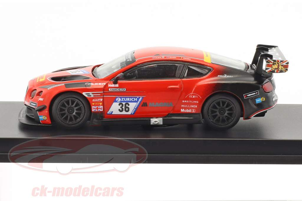 Bentley Continental GT3 #36 24h Nurburgring 2017 Bentley Team ABT 1:64 Spark