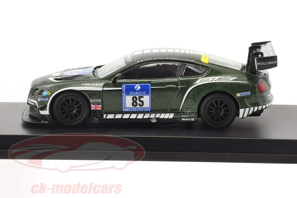 Bentley Continental GT3 #85 24h Nürburgring 2015 Bentley Motors Ltd 1:64 Spark