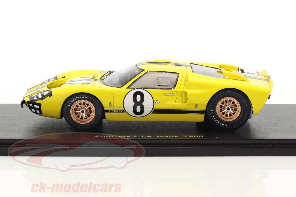 Ford GT40 MK2 #8 24h LeMans 1966 Gardner, Whitmore 1:43 Spark