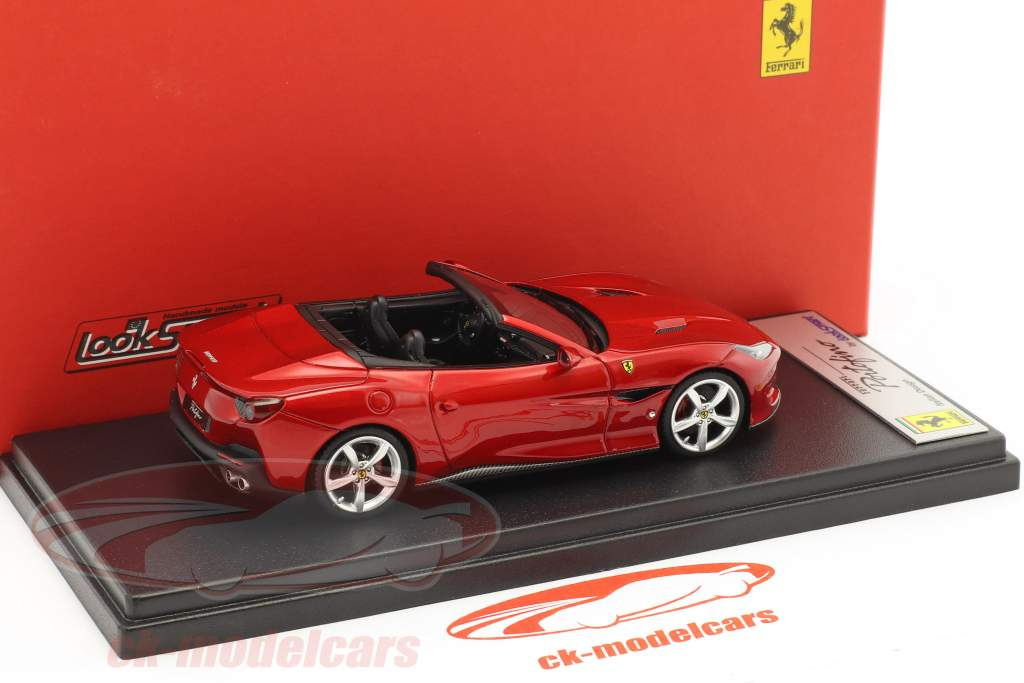 Ferrari Portofino open Top year 2017 red 1:43 LookSmart
