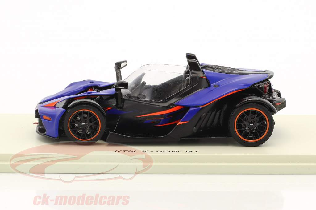 KTM X-Bow GT scuro blu / nero 1:43 Spark
