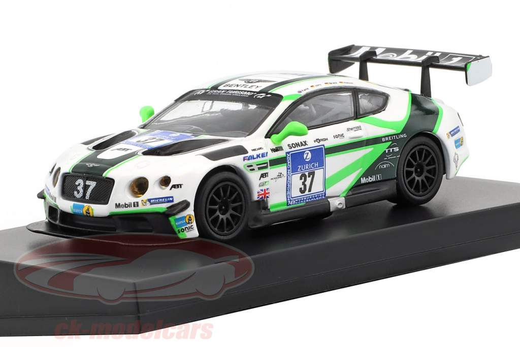 Bentley Continental GT3 #37 24h Nürburgring 2016 Bentley Team Abt 1:64 Spark