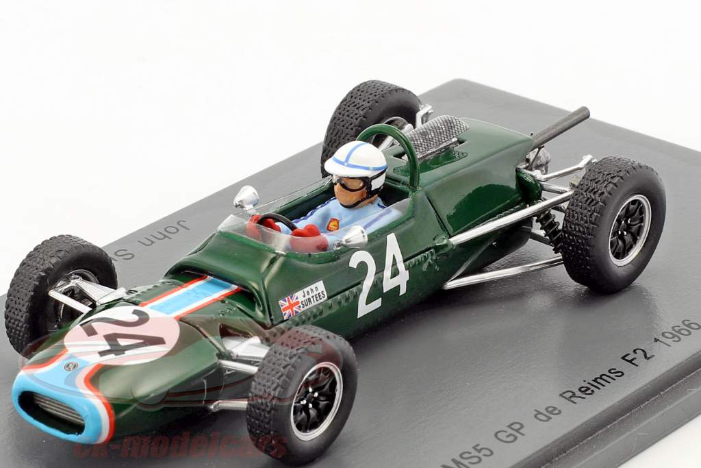John Surtees Matra MS5 #24 GP de Reims Formel 2 1966 1:43 Spark