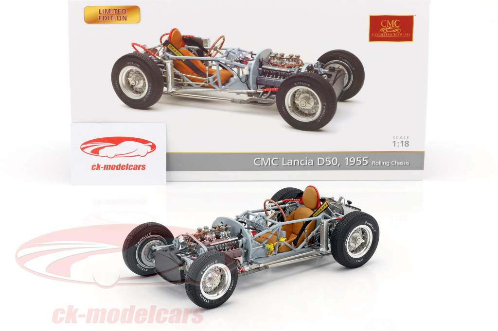 Lancia D50 Anno 1955 Rolling Chassis 1:18 CMC