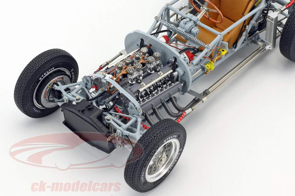 Lancia D50 Baujahr 1955 Rolling Chassis 1:18 CMC
