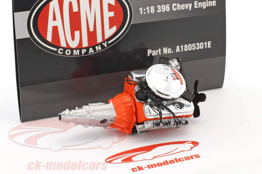 Z16 396 Chevy Engine and transmission 1:18 GMP