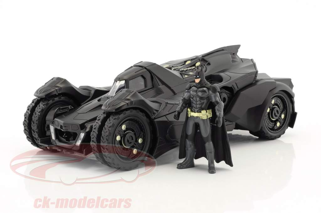 Batmobile Arkham Knight (2015) avec figure Batman noir 1:24 Jada Toys