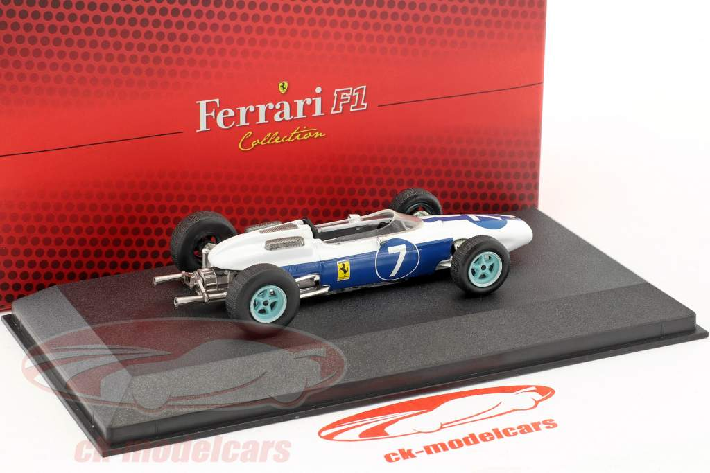 John Surtees Ferrari 158 #7 World Champion formula 1 1964 1:43 Atlas