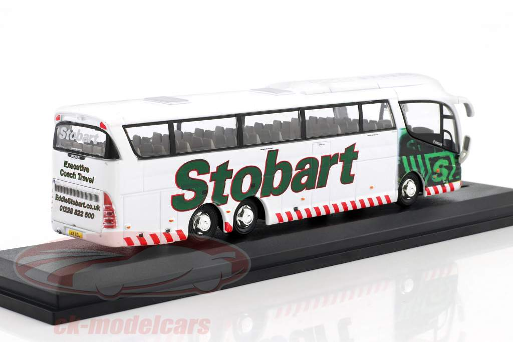 Scania Irizar PB Executive Coach Laura Abby Stobart bianco / verde 1:76 Atlas