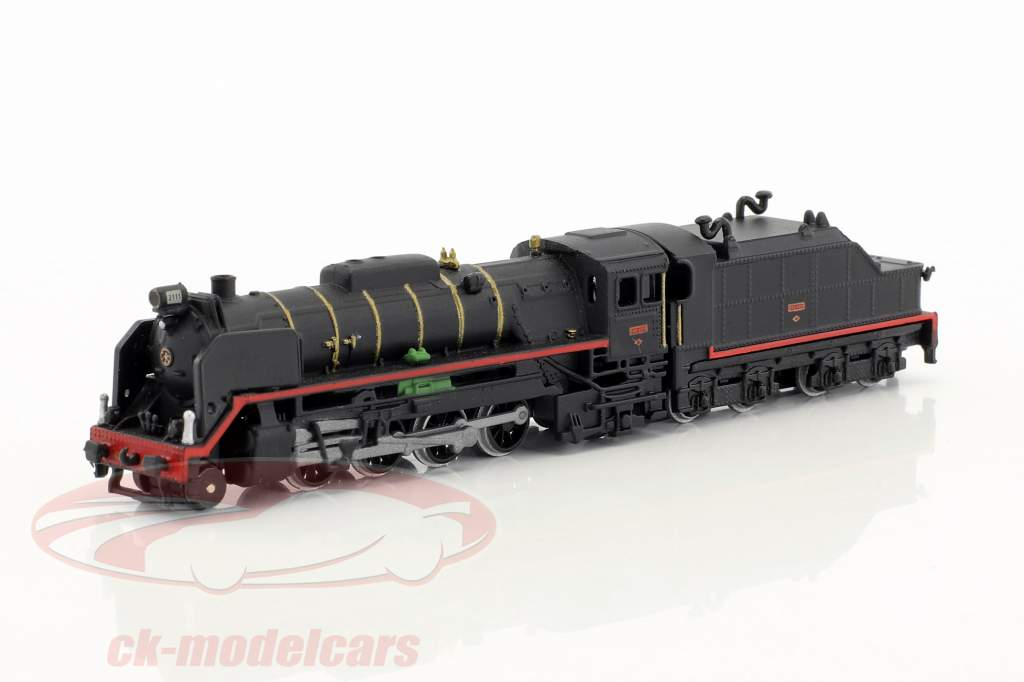 MIKADO 141 RENFE train with track black / brown / white 1:220 Atlas