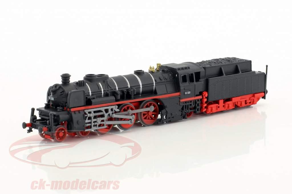 RHEINGOLD train avec piste noir / blanc / bleu 1:220 Atlas
