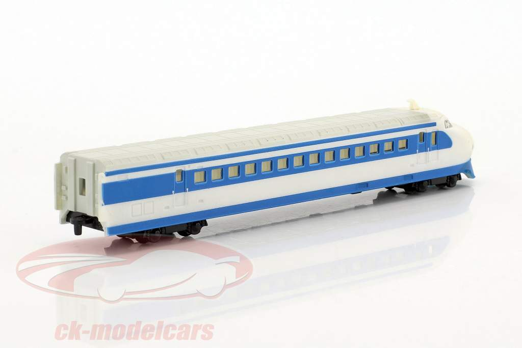 SHINKANSEN train with track blue / White 1:220 Atlas