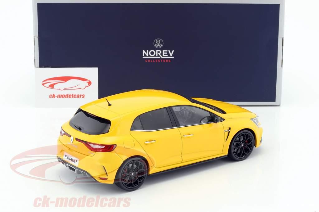 Renault Megane R.S. Baujahr 2017 sirius gelb 1:18 Norev