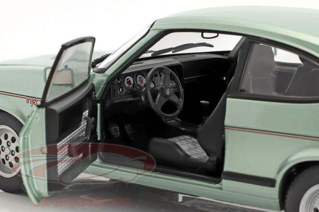 Ford Capri Mk III 2.8 Injection year 1982 light green metallic 1:18 Norev
