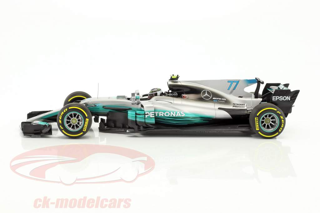 Valtteri Bottas Mercedes F1 W08 EQ Power  #77 Formel 1 2017 1:18 Minichamps