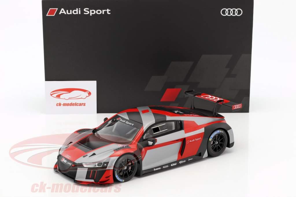 Audi R8 LMS presentazione Warpaint 1:18 Spark