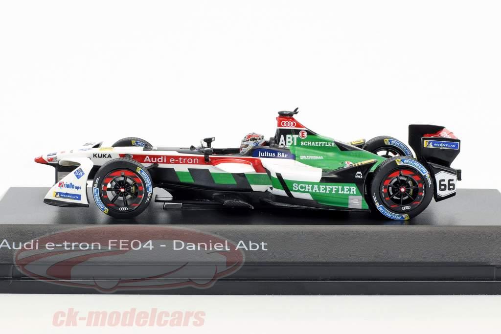 Daniel Abt Audi e-tron FE04 #66 formula E 2017/18 1:43 Spark