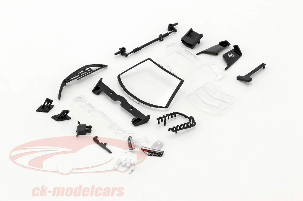 Lamborghini Reventon gray kit 1:24 Bburago