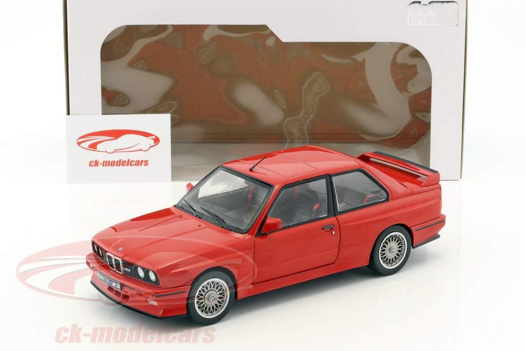 BMW M3 E30 anno di costruzione 1990 rosso 1:18 Solido