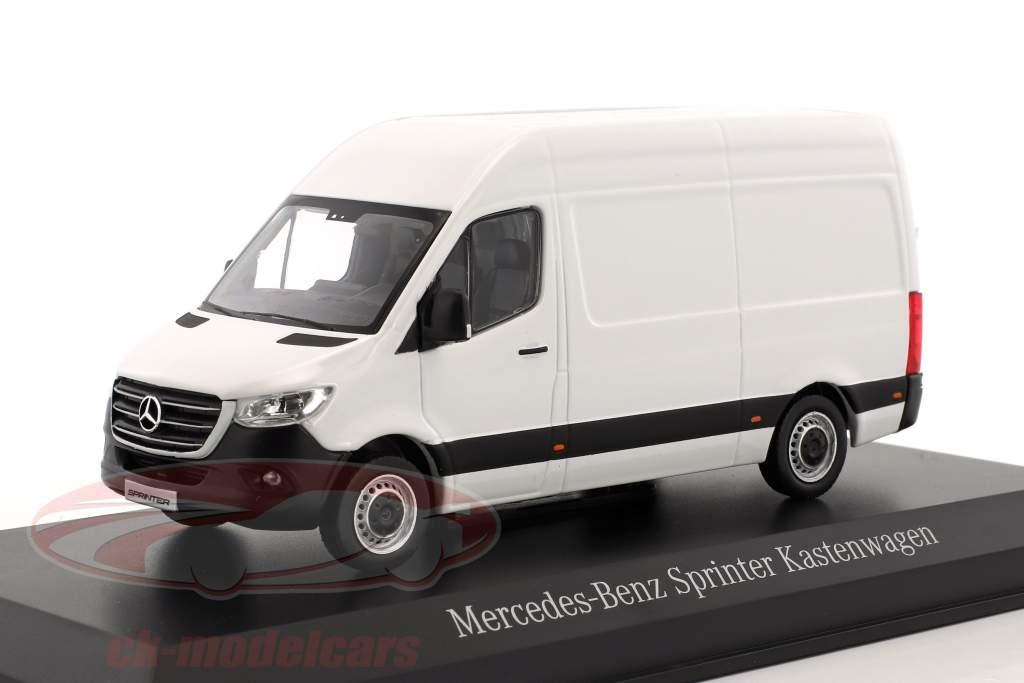 Mercedes-Benz sprinter panneau van artic blanc 1:43 Norev